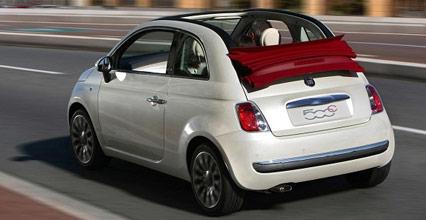 Fiat 500H Cabrio